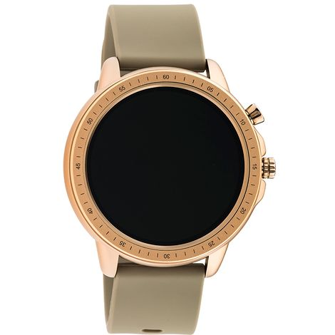 Smartwatch OOZOO taupe rubber strap Rose Gold Q00302 Q00302