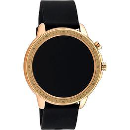 Smartwatch OOZOO black rubber strap Rose Gold Q00303 Q00303