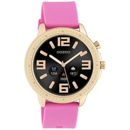 Smartwatch OOZOO Rose Gold Pink Rubber Strap Q00325 Q00325