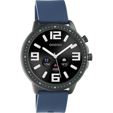 Smartwatch OOZOO Black / Blue Rubber Strap Q00332 Q00332