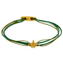 Bracelet MarichuanaYellow SB103Y SB103Y Ασήμι