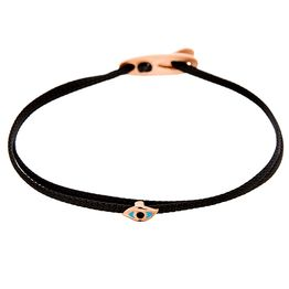 Bracelet eye 2 cord Rose gold SB99P SB99P Ασήμι