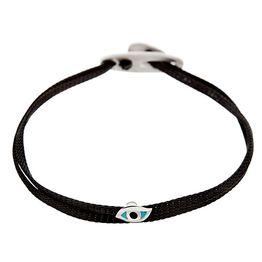 Bracelet eye 2 cord Silver SB99S SB99S Ασήμι