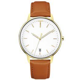 Γυναικείο ρολόι Tylor Deco Heart Brown Leather Strap TLAD003 TLAD003 Ατσάλι