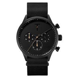Fly High Tylor Quartz Multifunction Black Timepiece TLAE005 TLAE005 Ατσάλι