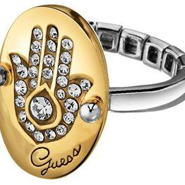 Επίχρυσο δαχτυλίδι Guess UBR11304-L Ορείχαλκος