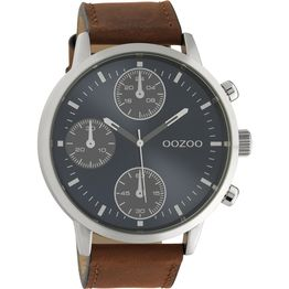 Gents OOZOO Timepieces Brown Leather Strap C10665 C10665