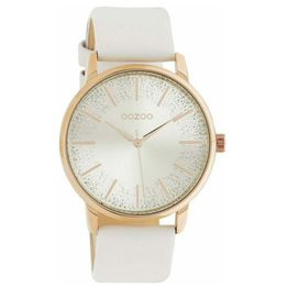 Ρολόι γυναικείο OOZOO Vintage White Strap C10715 C10715
