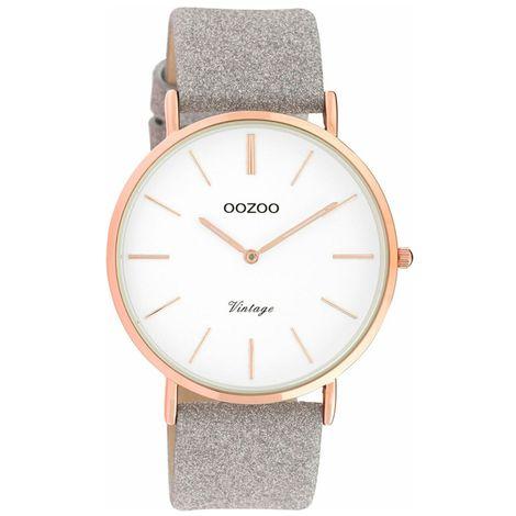 Ρολόι γυναικείο OOZOO Vintage Silver Strap C20151 C20151