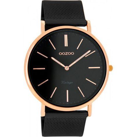 Γυναικείο ρολόι OOZOO Black bracelet C8868 C8868