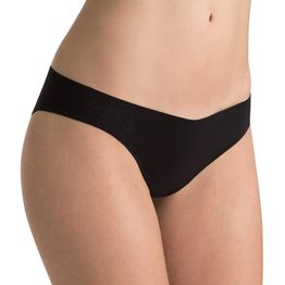 10074446 Sloggi Light Cotton Tanga (Flow) ΜΑΥΡΟ