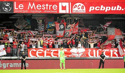 football, ble, groupes, supporters, retour