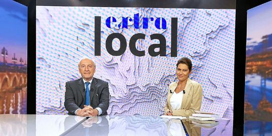 Hubert Védrine invité « d'Extra local »