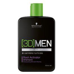 Schwarzkopf new [3D]MEN Root Activator Shampoo 250ml
