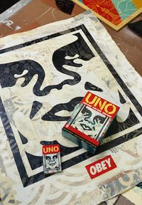 Mattel taps Shepard Fairey for its UNO Artiste Series