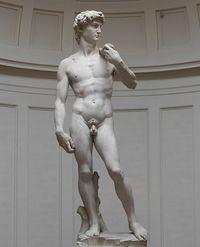 Art or censorship? Expo omits bottom of famed David statue
