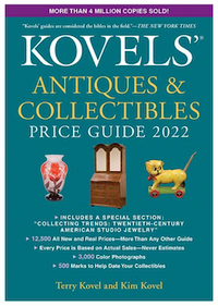 Kovels releases Antiques & Collectibles 2022 Price Guide