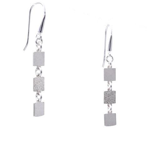 Γυναικεία σκουλαρίκια από ασήμι 925 5cm μήκους