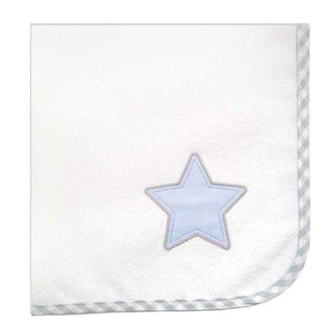 Σελτεδάκι Des. 309 Lucky Star Blue Baby Oliver 50x70cm