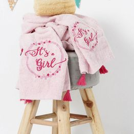 Πετσέτες Παιδικές Σετ 2τμχ.Nina 2τμχ Palamaiki Σετ Πετσέτες