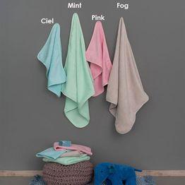 Πετσέτες Βρεφικές Robin Σετ 2τμχ Mint Palamaiki Σετ Πετσέτες
