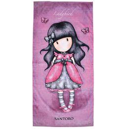 Παιδική Πετσέτα Θαλάσσης 5827 Santoro Fuchsia Das Home Θαλάσσης 75x150cm