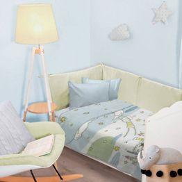 Κουβέρτα Βρεφική 6594 Velour Relax Light Blue Das Home Κούνιας 110x140cm