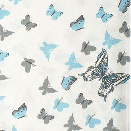 Πάνα Βρεφική Butterfly 56 Sky blue DimCol 80x80cm