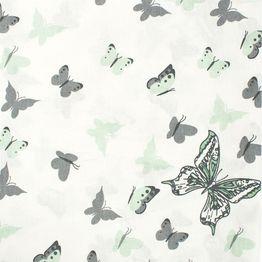 Πάνα Βρεφική Butterfly 57 Green DimCol 80x80cm