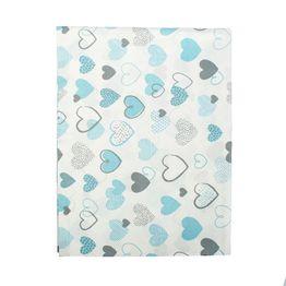 Πάνα Βρεφική Hearts 08 Blue DimCol 80x80cm