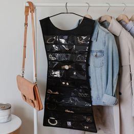 Διακοσμητικό Φόρεμα Με Θήκες Οργάνωσης 299035-040 Black Umbra Ύφασμα