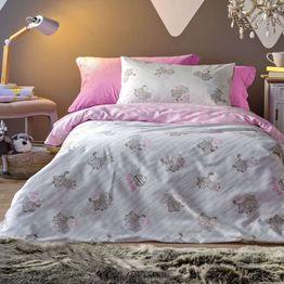 Πάπλωμα Βρεφικό Africa Grey-Pink Kentia 120x160cm
