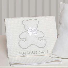 Κουβέρτα Βρεφική Πικέ Des. 330 My Little One Baby Oliver Κούνιας 100x140cm