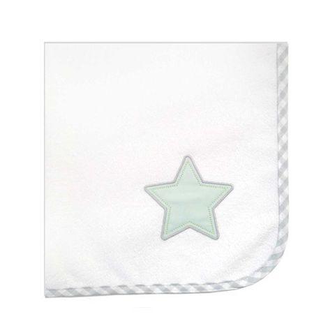 Σελτεδάκι Βρεφικό Des.304 Lucky Star White-Green Baby Oliver 50x70cm