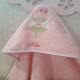 Κάπα Βρεφική Des.307 Fairy Dance Pink Baby Oliver 0-2 ετών One Size