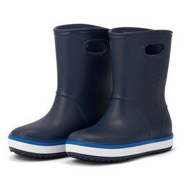 Crocs - Crocs Crocband Rain Boot K 205827-4KB - 00455
