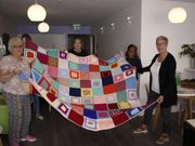 Stitches of support for Nightingale Cancer Centre clients