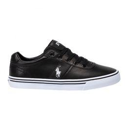 Polo Ralph Lauren ανδρικά δερμάτινα sneakers - 816765046003 - Μαύρο
