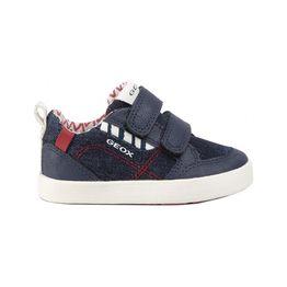 Geox βρεφικά sneakers με denim λεπτομέρειες