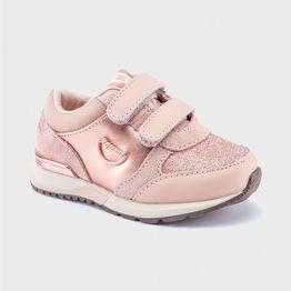Mayoral βρεφικά sneakers με Velcro (21-25) - 42148 - Ροζ