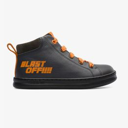 Camper βρεφικά sneakers μποτάκια με κορδόνια ''Twins'' (25-27) - K900254-002 - Γκρι