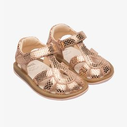 Camper βρεφικά μεταλλιζέ παπούτσια