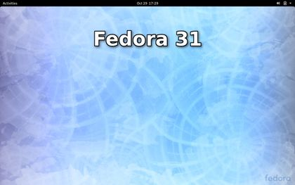 Fedora 31 officially released, see screenshots