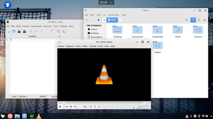 Feren OS 2019.12 snapshot features Plasma as the main desktop