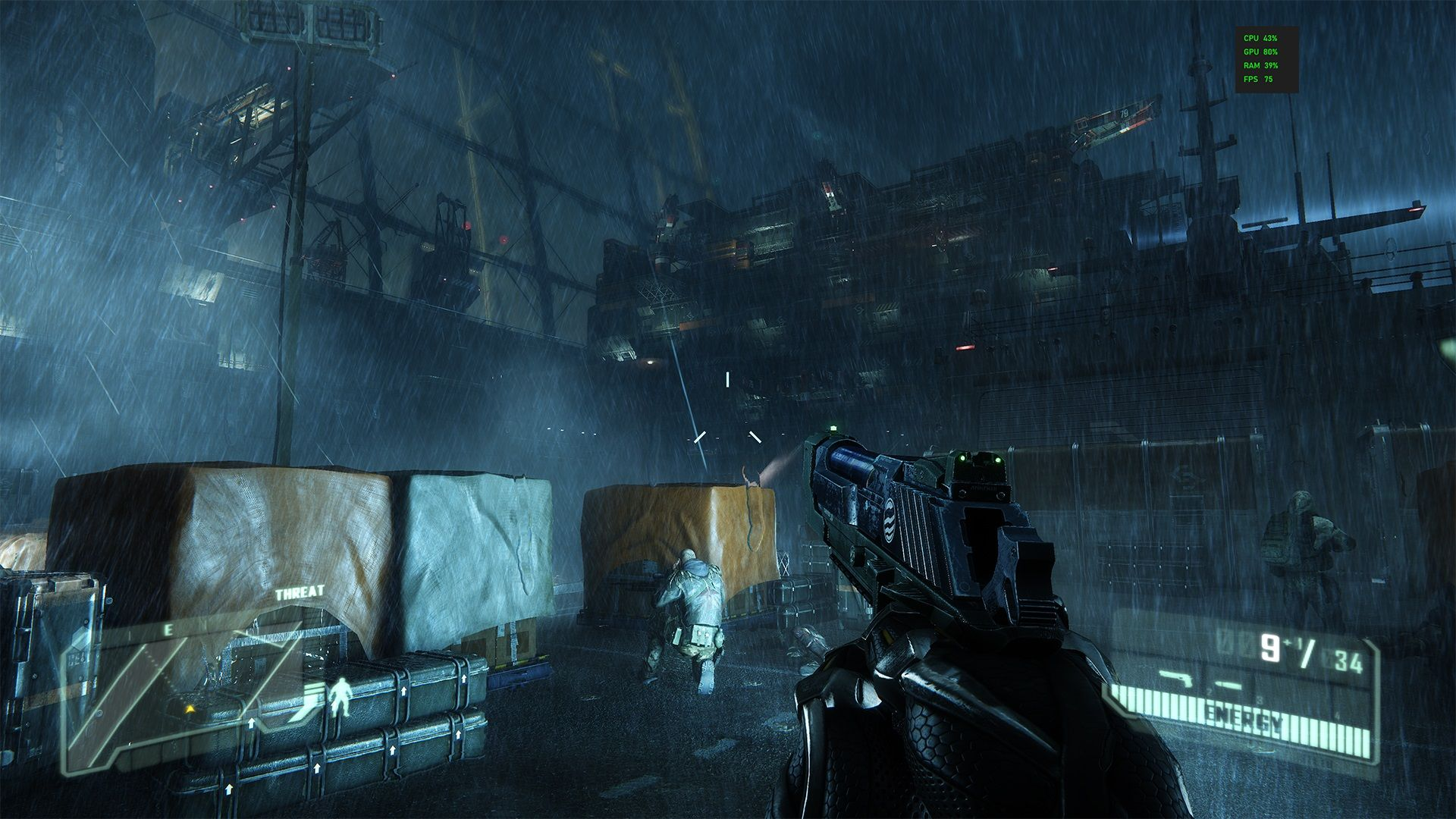 Crysis 3 на GeForce RTX 3090