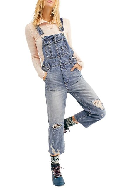 Free People baggy boyfriend overall - ob898204