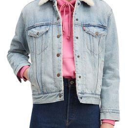 Levi's® Ex-boyfriend sherpa trucker jacket strangerways - 36137-0026