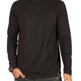 Anerkjendt Akkomet organic cotton ζιβάγκο μπλούζα μαύρη - 9419311
