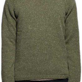 Nudie ανδρικό nep πουλόβερ σε λαδί - 150150-ol