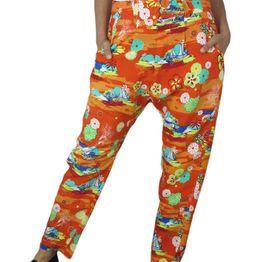 Cantao γυναικείο παντελόνι βράκα φλοράλ - 87145